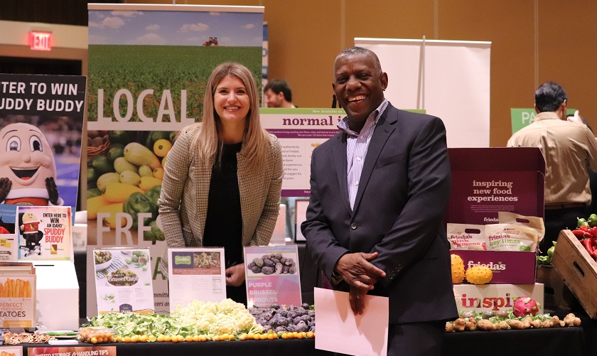 Vendors at the Sysco Food Show 2019