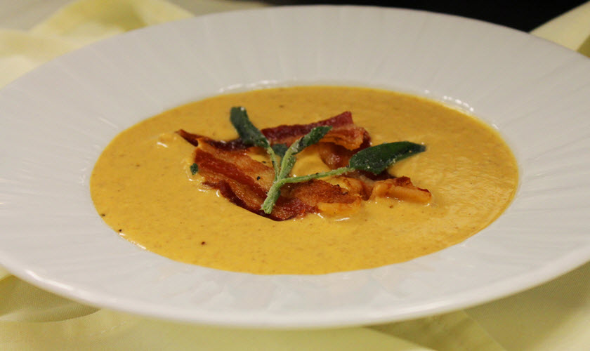 Roasted Pumpkin Bisque