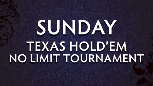 Sunday Poker Tournament